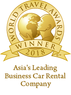 Asia's Leading Business Car Rental Company Winner Award